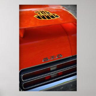 Pontiac 1969 GTO el juez Póster