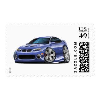 Pontiac 2004-06 coche azul/gris de GTO Estampillas