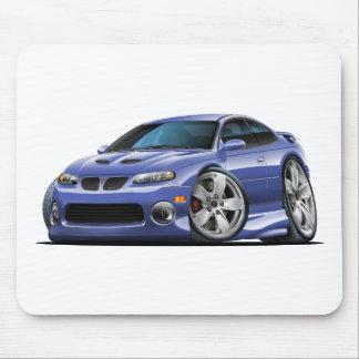 Pontiac 2004-06 coche azul/gris de GTO Tapetes De Ratones