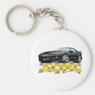 Pontiac 93-02 Trans Am Basic Round Button Keychain