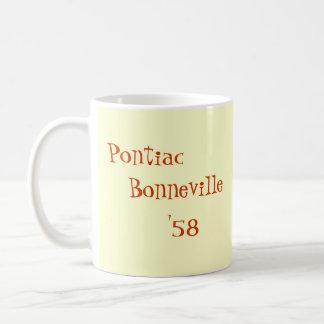 Pontiac Bonneville '58 Classic White Coffee Mug