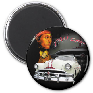 Pontiac Chieftain 1953 2 Inch Round Magnet