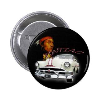 Pontiac Chieftain 1953 Pin Redondo De 2 Pulgadas