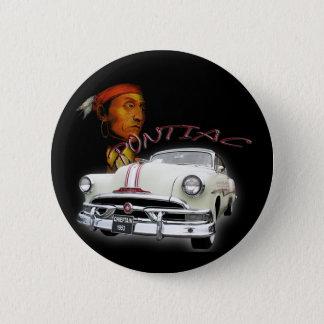 pontiac chieftain 1953 pinback button