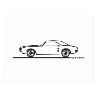 Pontiac Firebird 1968 Postal