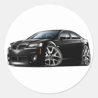 Pontiac G8 GXP Black Car Stickers