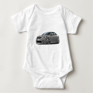 Pontiac G8 GXP Grey Car Baby Bodysuit
