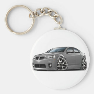 Pontiac G8 GXP Grey Car Keychain