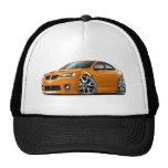 Pontiac G8 GXP Orange Car Trucker Hat