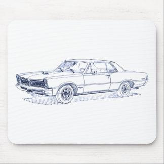 Pontiac GTO 1965 Mouse Pad