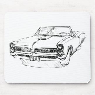 Pontiac GTO 1967 Mouse Pad