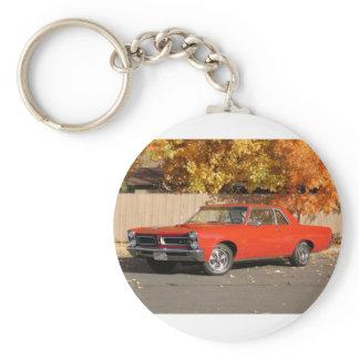 Pontiac GTO Keychain