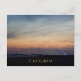Pontiac, Illinois postcard
