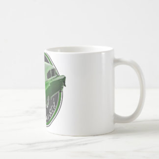 pontiac lead sled green metal flake lowrider mug