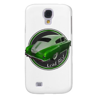 pontiac lead sled green metal flake lowrider samsung galaxy s4 cover