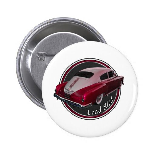 pontiac lead sled red low rider buttons