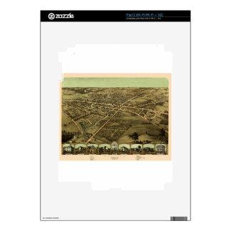 Pontiac Michigan 1867 iPad 2 Skin