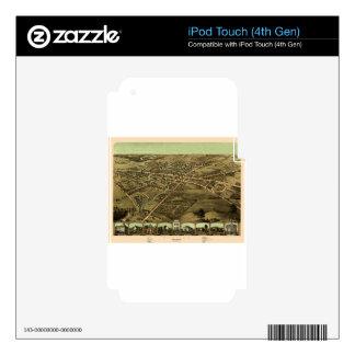 Pontiac Michigan 1867 Skin For iPod Touch 4G