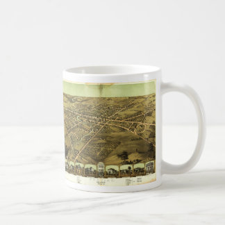 Pontiac Oakland County Michigan (1867) Coffee Mug