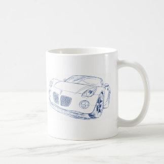 Pontiac Solstice Sketch Coffee Mug