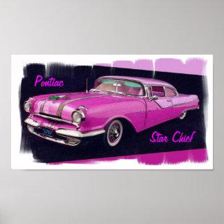 Pontiac Star Chief 1955 Poster