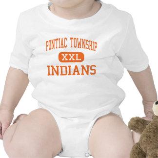 Pontiac Township - Indians - High - Pontiac Rompers