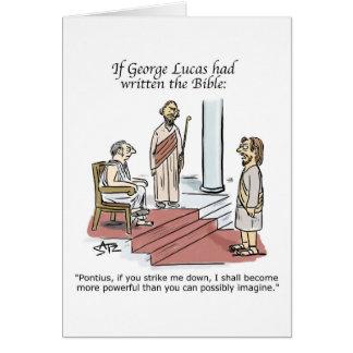 Pontius Pilate greeting card