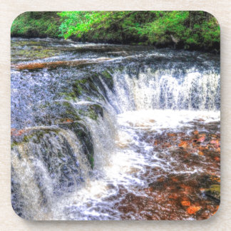 Pontneddfechan Falls Walking Trail - Wales Drink Coaster