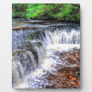 Pontneddfechan Falls Walking Trail - Wales Plaque