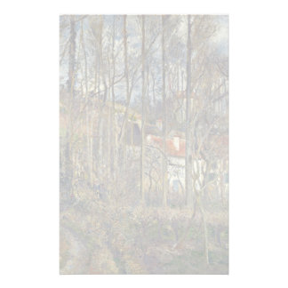 Pontoise, The Côte Des Boeufs At The Hermitage Customized Stationery