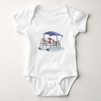 Pontoon Boat Baby Bodysuit