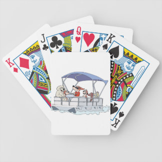 Pontoon Boat Bicycle Playing Cards