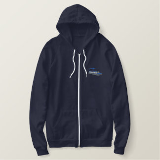 Pontoon Boat Embroidered Hoodie