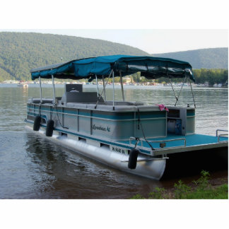 Pontoon Boat Cut Out