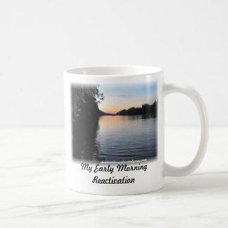 Pontoon Flotilla , My Early Morning Reactivation Coffee Mug
