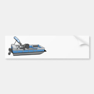 pontoon fun bumper sticker