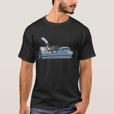 Beach Themed pontoon fun T-Shirt