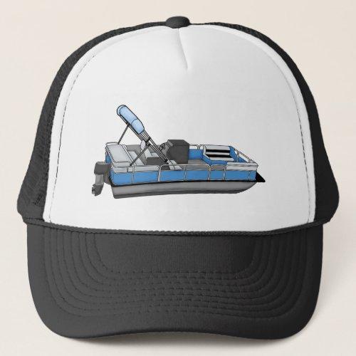 pontoon fun trucker hat
