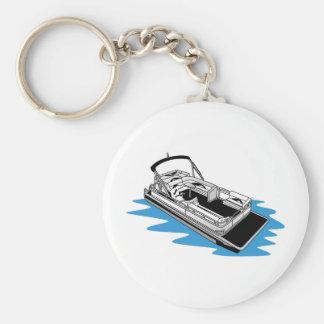 Pontoon Keychain