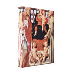 Pontormo - Madonna with St Francis Stretched Canvas Prints