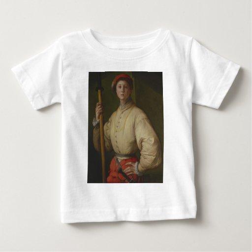 Pontormo - retrato de un alabardero 1528-30.jpg playeras