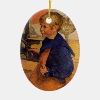 Pontus by the Etching Machine Ceramic Ornament