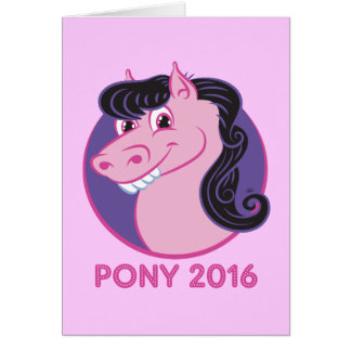Pony 2016—Vote for Paintbrush Pony™! Card
