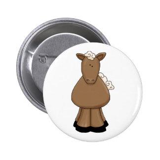 Pony 2 Inch Round Button