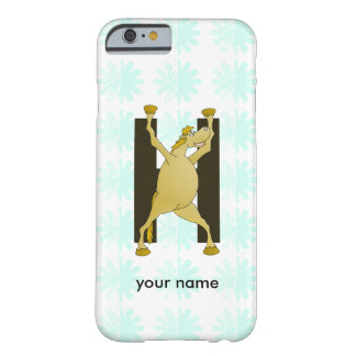 Pony Alphabet Monogram H Barely There iPhone 6 Case