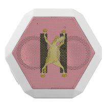 Pony Alphabet Monogram H White Bluetooth Speaker