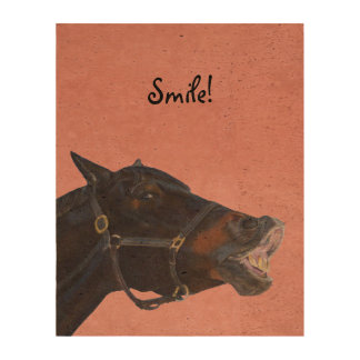 Pony and a Smile Cork Fabric
