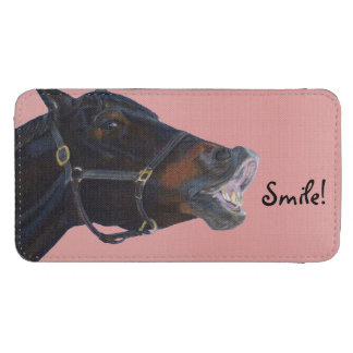 Pony and a Smile Galaxy S4 Pouch