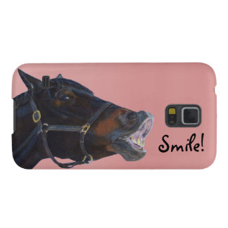 Pony and a Smile Galaxy S5 Cover