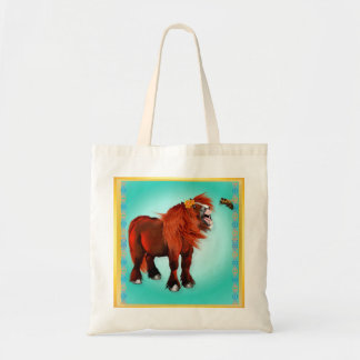 Pony and Bee Tote Bag